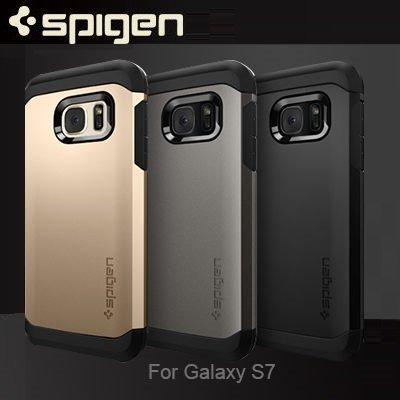 Spigen Tough Armor/SAMSUNG專用Galaxy S7/S7 Edge/手機殼/背蓋【馬尼行動通訊】