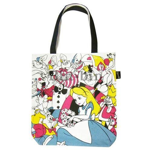 迪士尼 愛麗絲A4尺寸手提袋/747-776