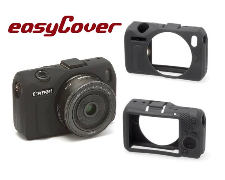 ◎相機專家◎ easyCover 金鐘套 Canon M1 M2 機身適用 果凍 矽膠 防塵 保護套 公司貨 另有5D 6D