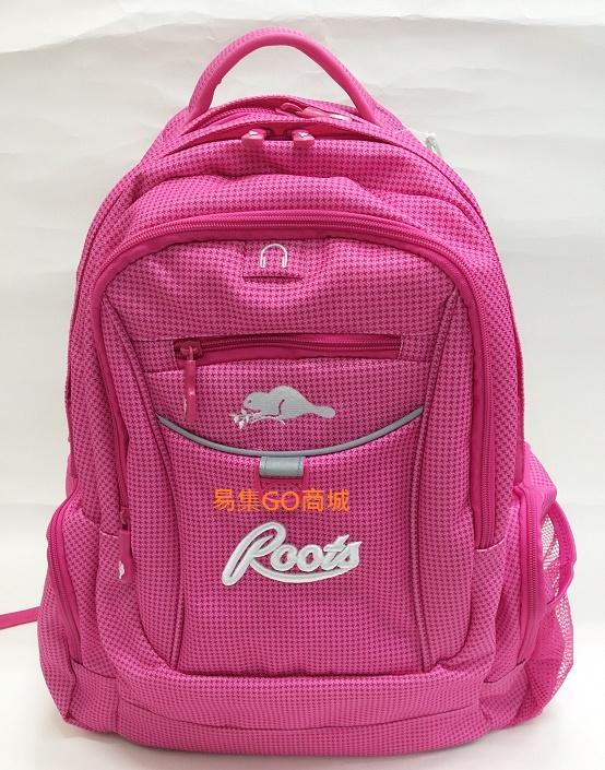 易集GO商城-加拿大ROOTS ROOTS BACKPACK 多功能休閒後背包-粉紅色-66557