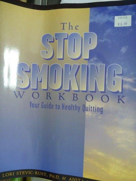 【書寶二手書T7/養生_QEQ】The Stop Smoking Workbook
