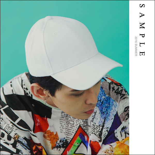 復古老帽 素面帆布棒球帽【AM16929】- SAMPLE