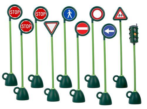 ★衛立兒生活館★VILLAGE 9 STR. SIGNS 1 TR EU UK 道路標示