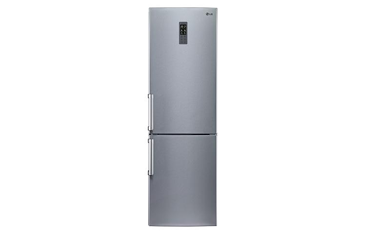 直驅變頻上下門冰箱 精緻銀 / 350L