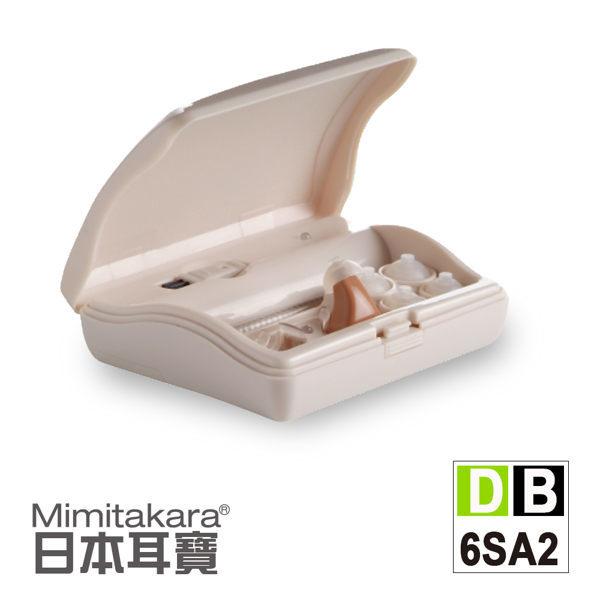 【日本耳寶】單耳充電式助聽器(耳內型) 6SA2 元健大和助聽器(未滅菌),贈品:環保小麥三件式餐具組x1