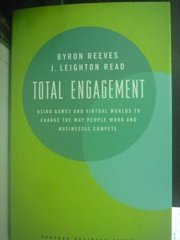 【書寶二手書T8/原文小說_ZDU】Total Engagement: Using