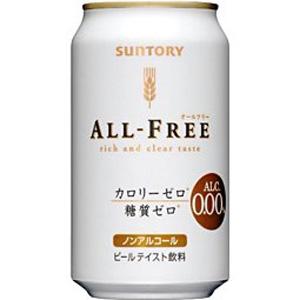 三多利 ALL-FREE小麥飲料/日本無酒精啤酒/4901777211681