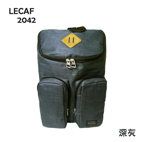 【加賀皮件】LECAF 休閒 多色 可放A4 單肩 雙肩 兩用背包 後背包 2042