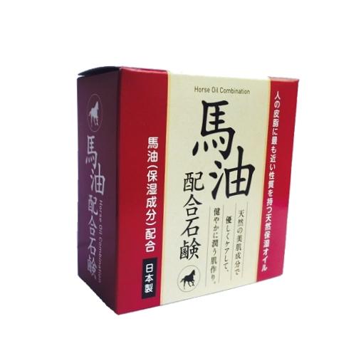 【晨光】日本製 馬油保濕皂 80g (125052)【現貨】