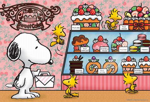 300片 SNOOPY-甜蜜蛋糕坊