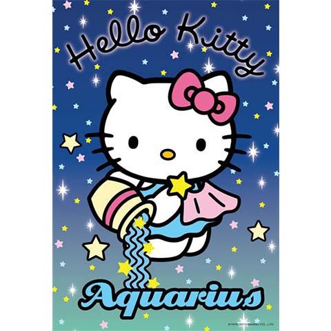 Hello Kitty水瓶座拼圖300片