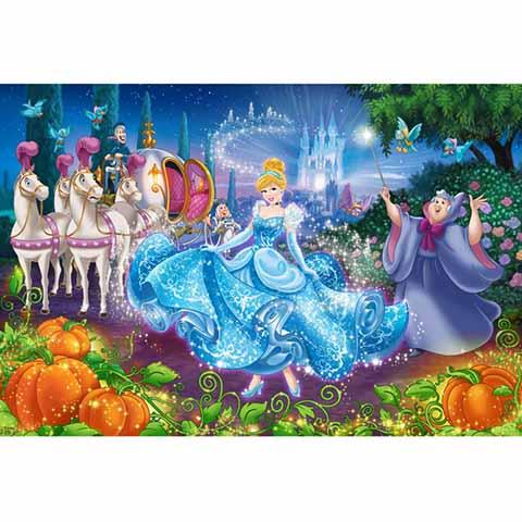 Disney Princess仙履奇緣拼圖1000片