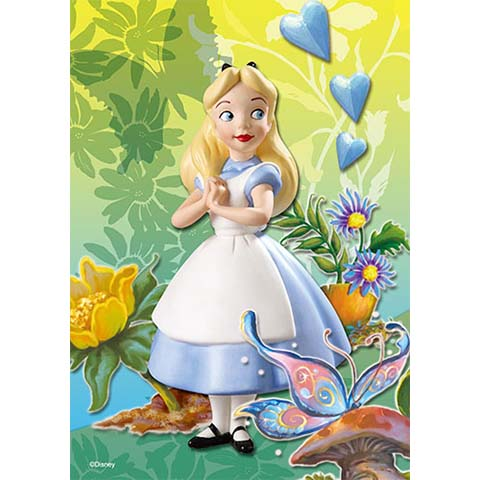 Alice In Wonderland奇幻旅程拼圖108片