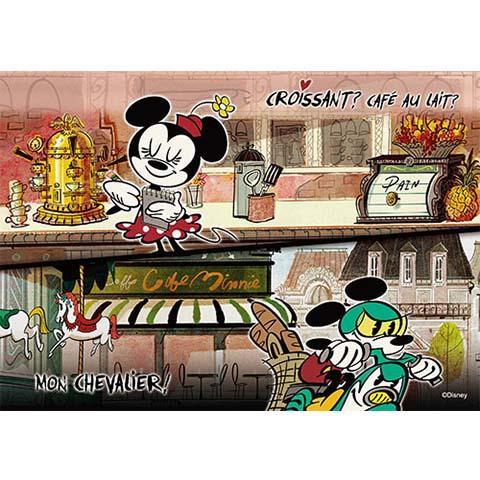 Mickey Mouse忙碌的一天拼圖108片