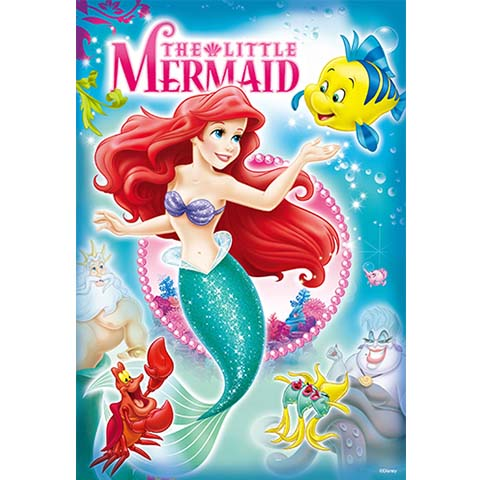 Disney Princess小美人魚拼圖192片