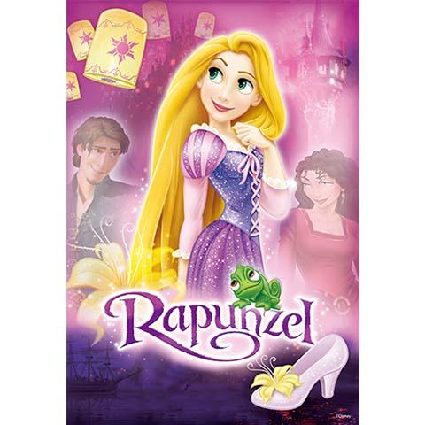 Disney Princess魔髮奇緣拼圖192片