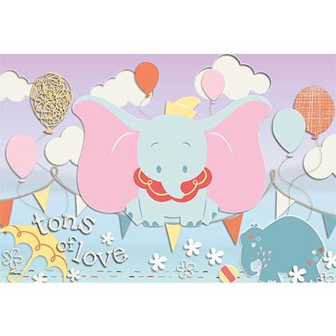 Dumbo特技表演拼圖300片