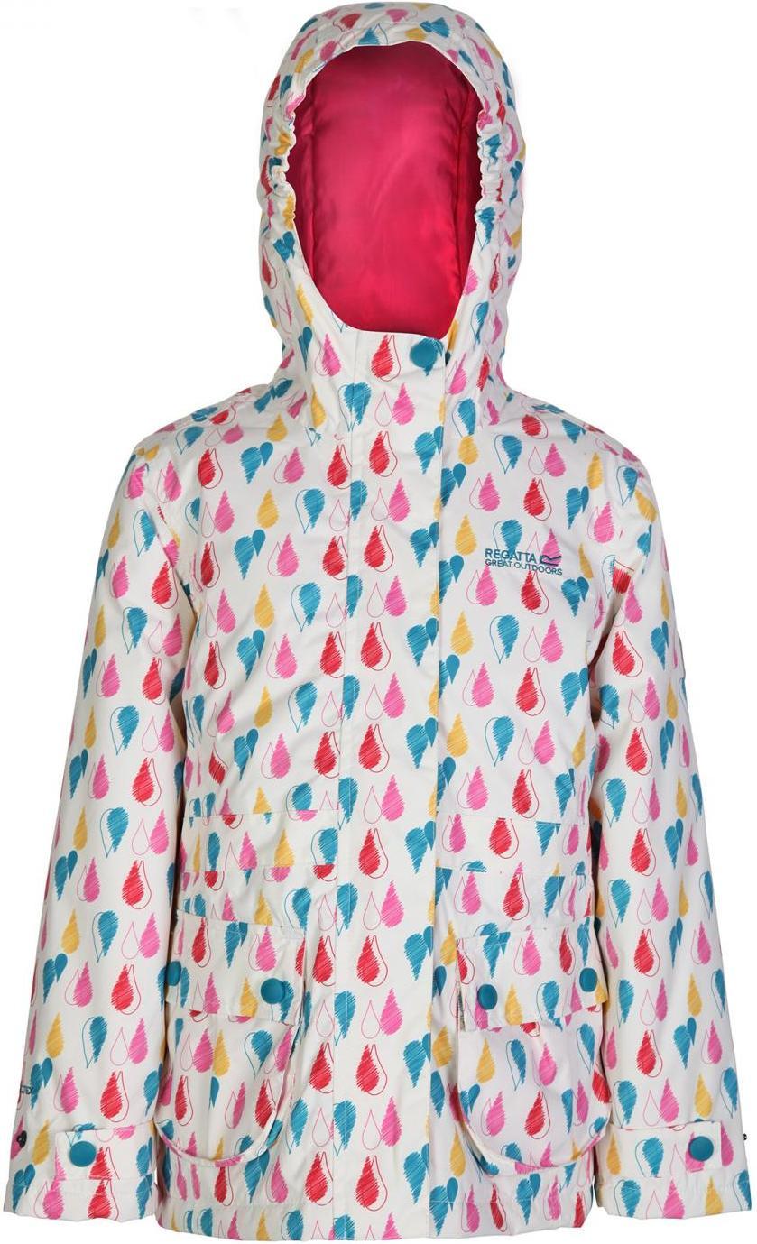 Regatta 兒童款雪衣/化纖外套/防水外套/滑雪外套 Bouncy 童款 RKP138 8P2 熊白