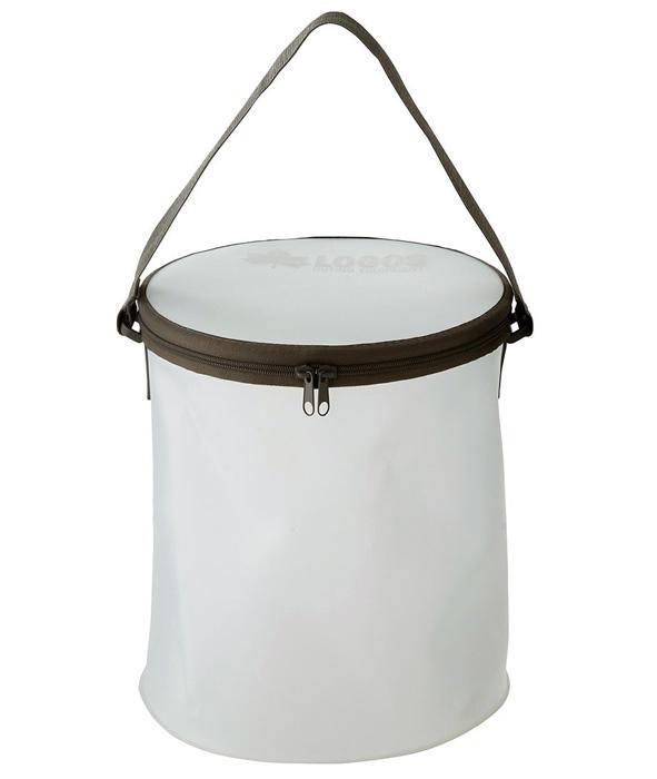 【鄉野情戶外專業】 LOGOS |日本|  多功能防水折疊水桶/露營小物/LG88230161