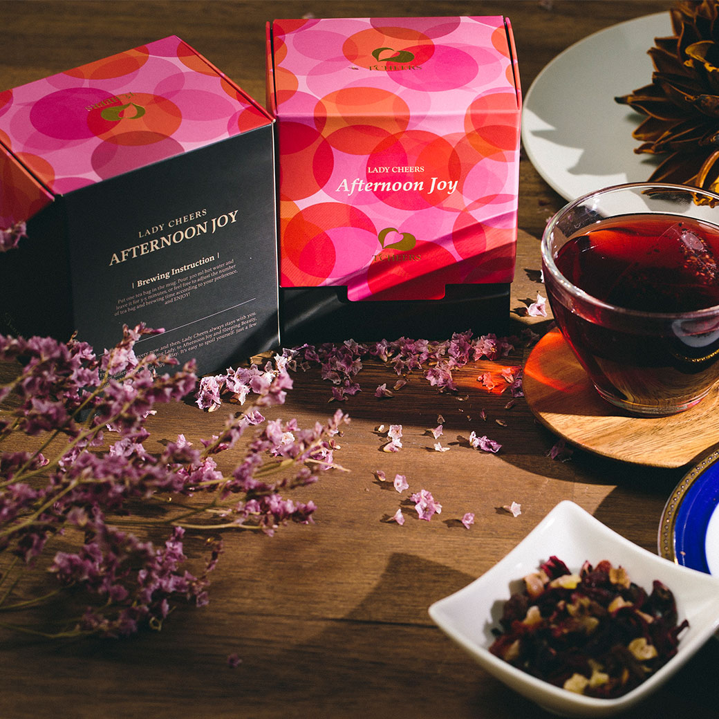 【TCHEERS】黑醋栗果茶 -午後黑佳麗 花草茶禮盒   8包入/盒