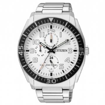 CITIZEN 經典三眼光動能腕錶 AP4010-54A