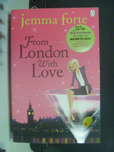 【書寶二手書T4/原文小說_OLX】From London with Love_Jemma Forte