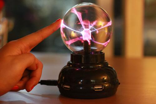 【賽先生科學工廠】Plasma 電漿球 / 靜電球 ( USB hub 功能 )