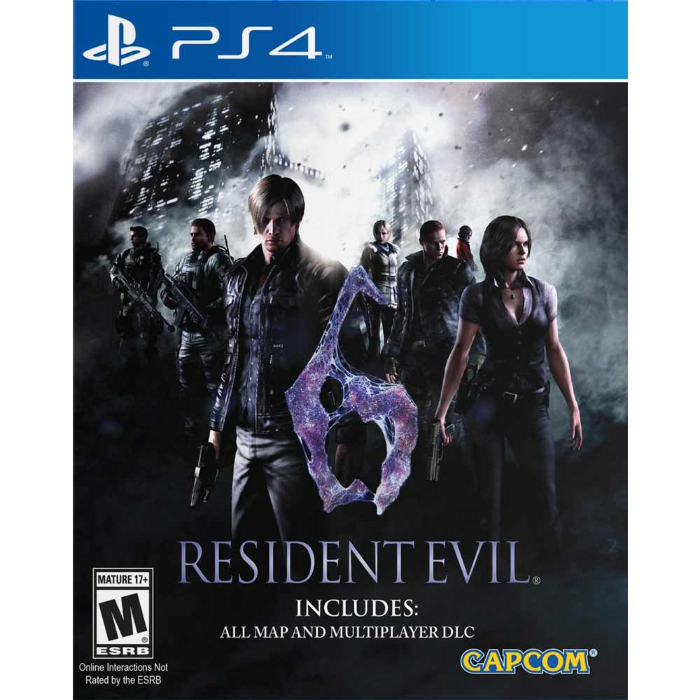 PS4 惡靈古堡 6 英文美版 (含所有DLC) RESIDENT EVIL 6 BIOHAZARD 6