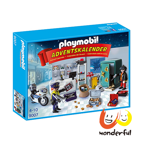Playmobil 警察抓小偷降臨曆