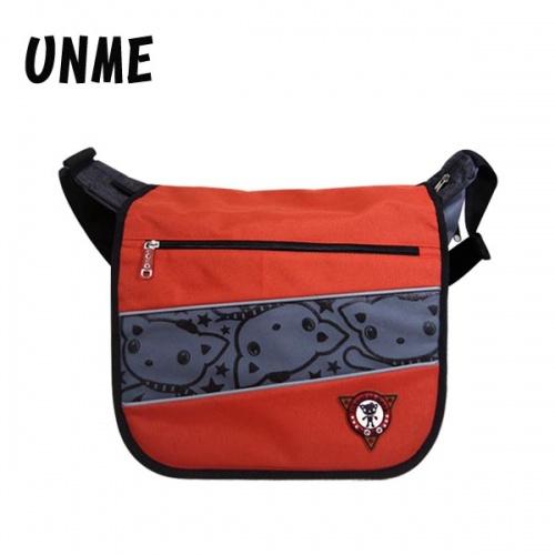 【加賀皮件】 UNME 多色 安全反光 MIT 橫式側背包 兒童書包 斜背包 【1130】