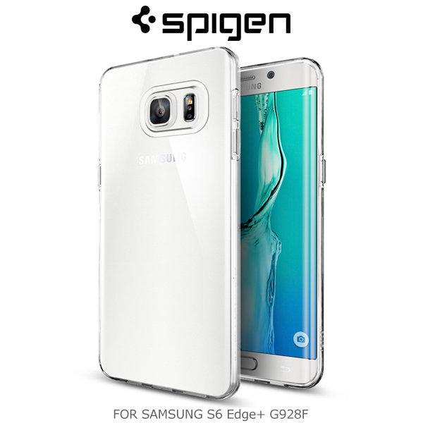 Spigen SAMSUNG Galaxy S6 Edge Plus Liquid Crystal 保護殼~斯瑪鋒數位~