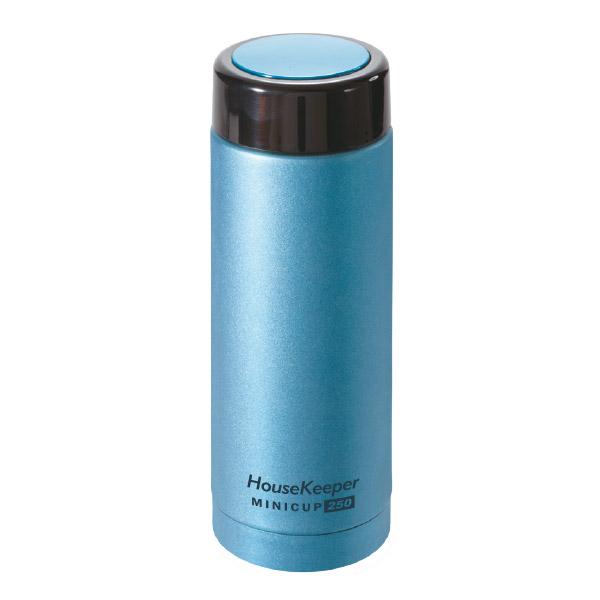 妙管家 真空Mini Cup保溫杯250ml(都會藍) HKVC-M250B