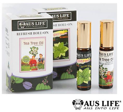 【AUS LIFE】茶樹 / 薄荷滾珠精油  5.3ml