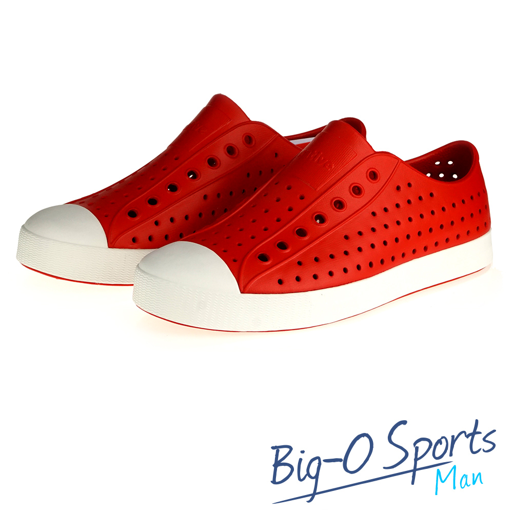NATIVE JEFFERSON 晴雨帆船鞋  輕便鞋   男女共用 001006400  Big-O Sports