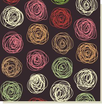 剪刀石頭紙 Moof 圈圈玫瑰花 包裝紙