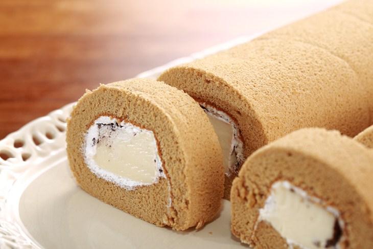 咖啡奶凍捲 430g±10g/條 - 美津甜點工房
