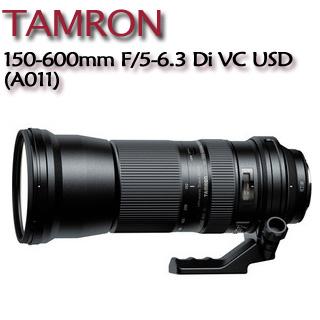 TAMRON  SP 150-600mm F/5-6.3 Di VC USD 【A011公司貨】