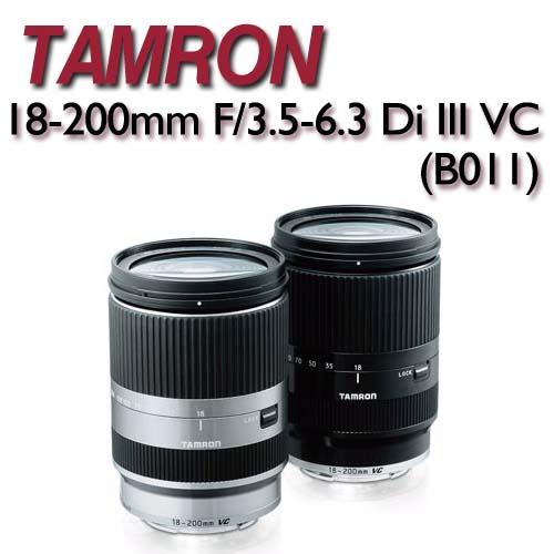 TAMRON 18-200mm F/3.5-6.3 Di III VC- FOR EOS-M【B011公司貨】