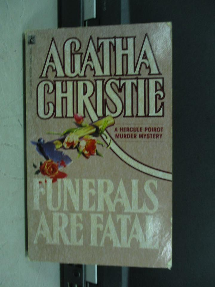 【書寶二手書T5/原文小說_KQB】Funerals are Fatai_Agatha Christie