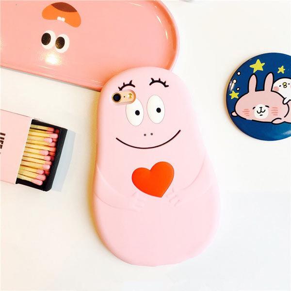泡泡先生 矽膠套 iPhone7 6/6S PLUS I6 I6S 6+ 7+ 全包覆 軟殼 手機殼 保護套