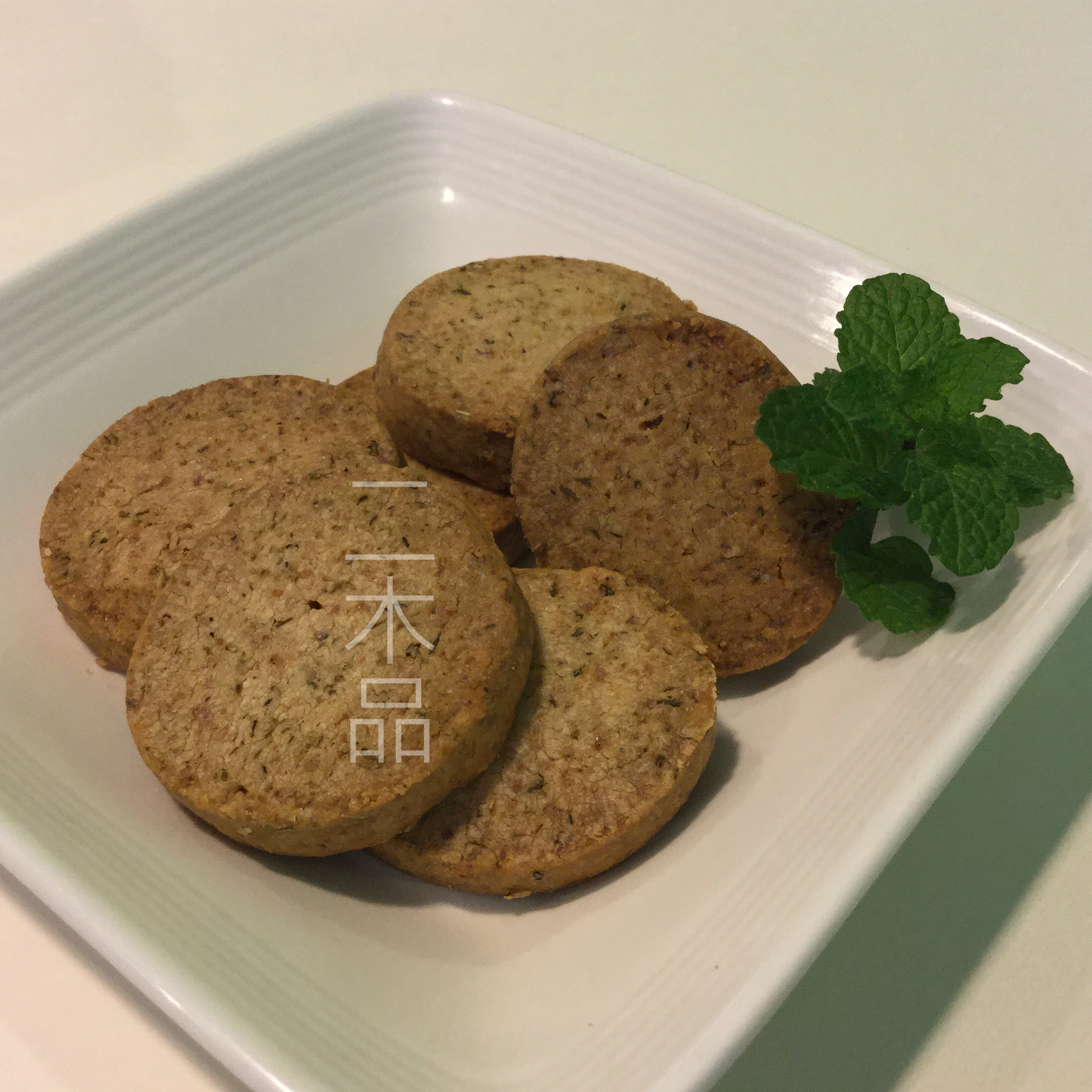 【二木品 marugo~手工餅乾 cookie】義式香料起司 Italian Seasoning with powdered cheese cookie(奶素)