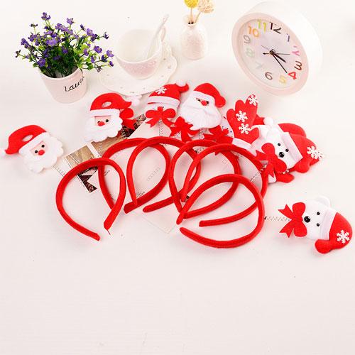 【P16112503】創意聖誕頭箍髮飾 聖誕節派對Party配件 可愛聖誕髮箍聖誕裝飾品