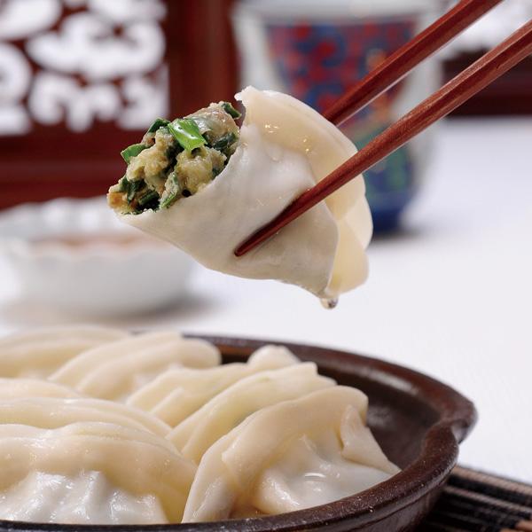 【奇美水餃】韭菜熟水餃200粒裝