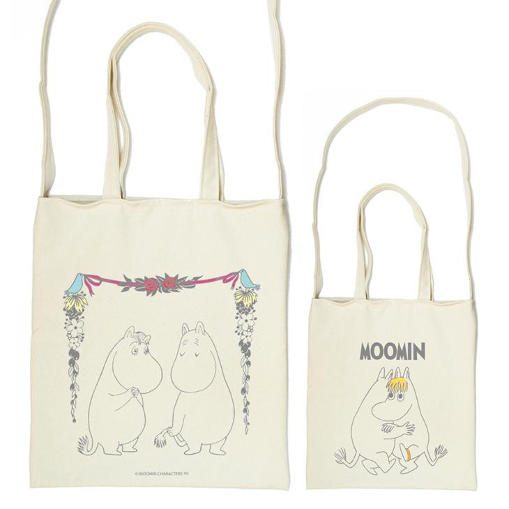 Moomin嚕嚕米授權 - 斜背包:【 愛慕 】