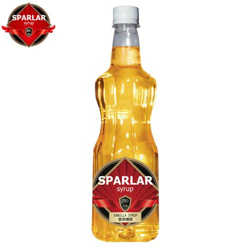 橙香風味糖漿- SPARLAR食伯樂  塑膠瓶750ml/罐【良鎂咖啡吧台原物料商】