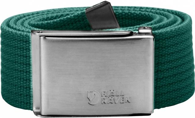 Fjallraven 瑞典北極狐 帆布腰帶/皮帶/軍裝腰帶 Canvas Belt 77029-647 銅綠