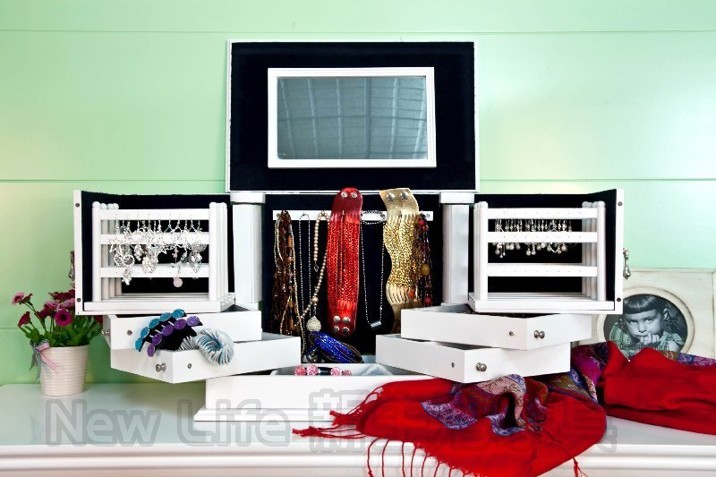 !!新生活家具!! 珠寶盒 情人節 禮物 歐美設計師設計 旋轉 珠寶盒 收納盒 首飾盒 非 H&D ikea 宜家