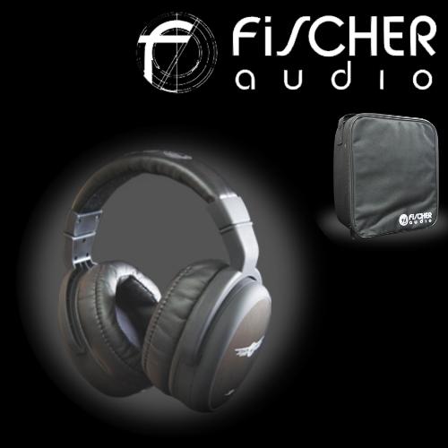 FiSCHER audio FA-003 / FA003 專家系列 封閉式耳罩耳機監聽級高保真耳罩式耳機
