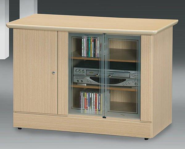 【尚品家具】111-01 白橡3尺電視櫃矮櫃儲櫃長櫃~另有胡桃柚木山毛色、2尺、4尺~