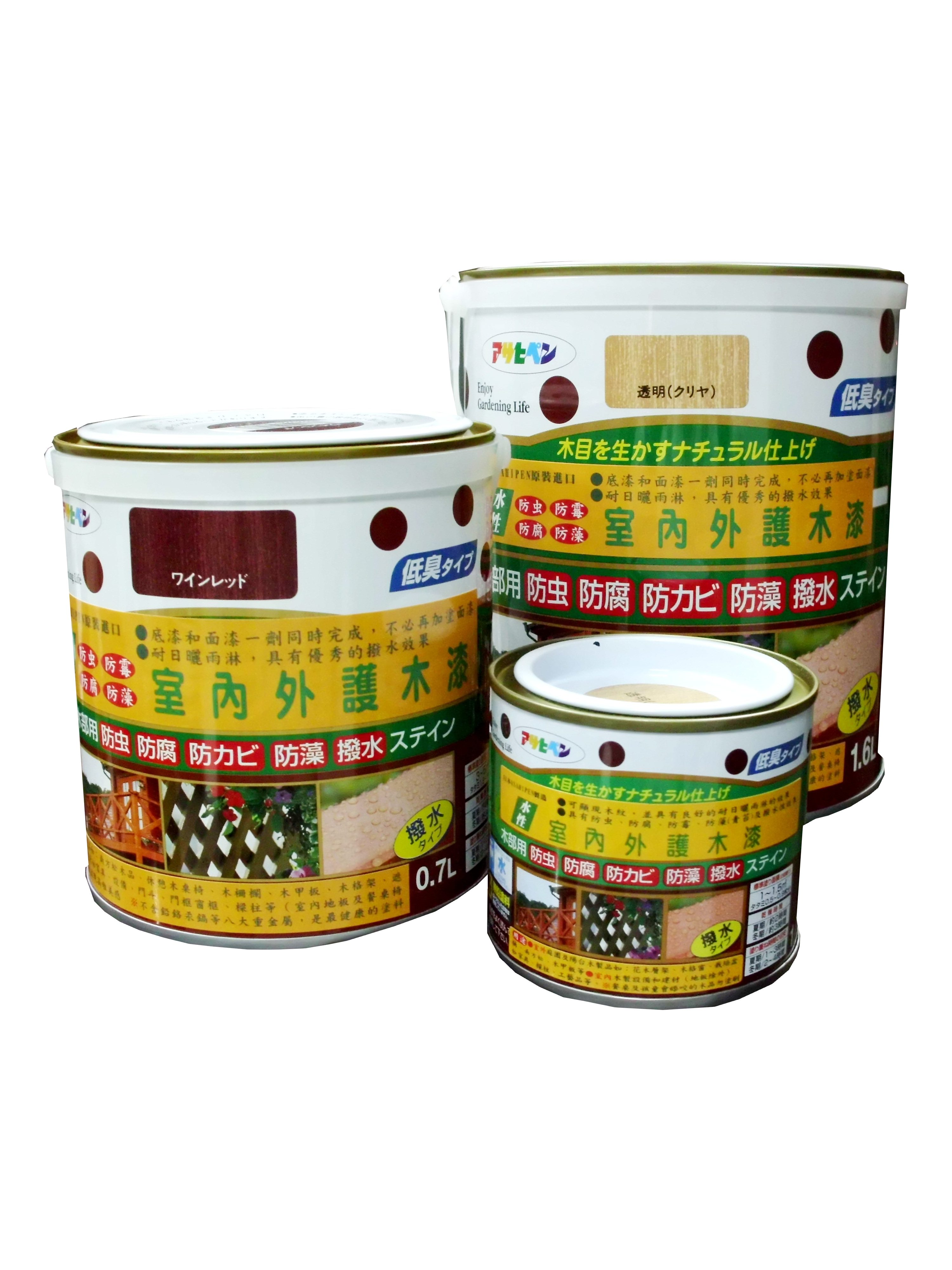 日本製室內/庭院防蟲防腐護木漆
